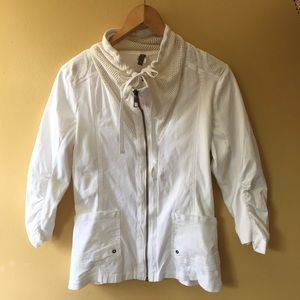 Xcvi Anthropologie lightweight zip up jacket Sz S